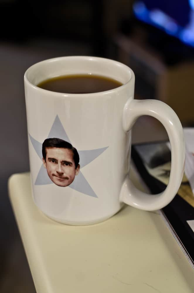 Steve Carell Coffe Mug