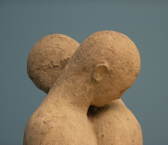 Statue of a couple in Denmark