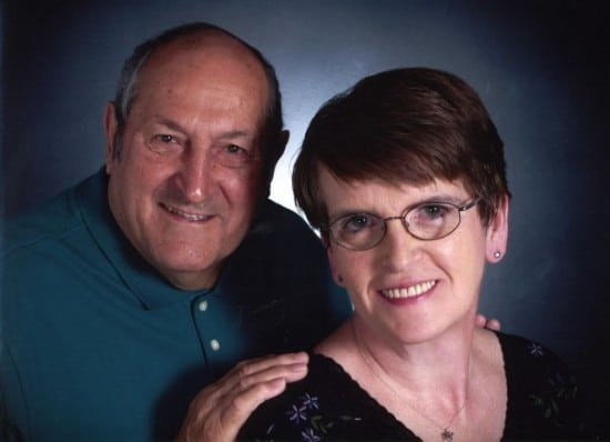 Picture of my father and mother