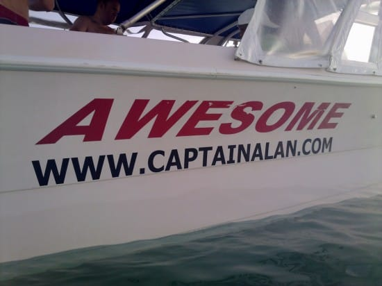 Boat named Awesome