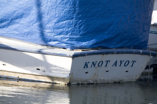 Boat named Not A Yot