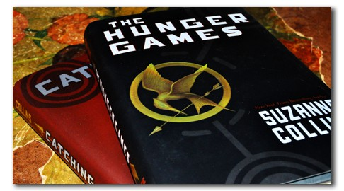 Hunger Games and Catching Fire books