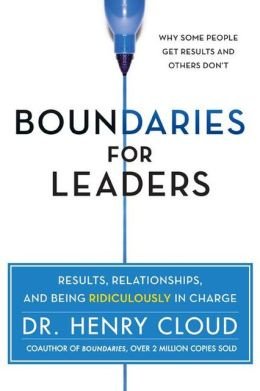 Cover image for Boundaries For Leaders by Dr. Henry Cloud
