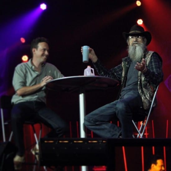 Ken Coleman and Duck Dynasty's Uncle Si