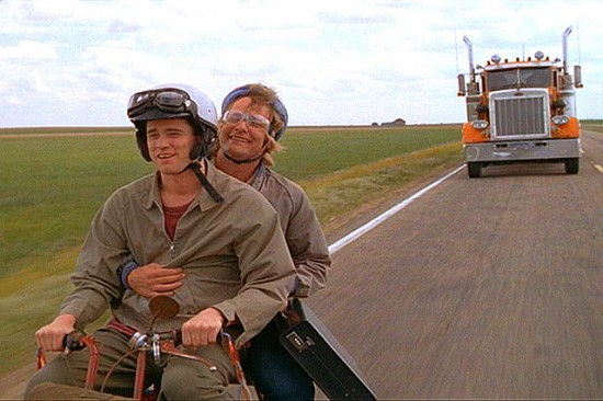 Harry and Llyod headed to Aspen (Dumb and Dumber)
