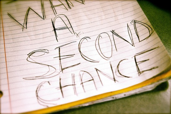 Second chances are real