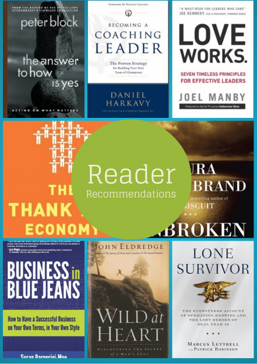 Books my readers recommended