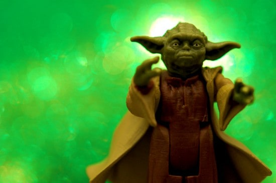 You can be a Yoda to someone today