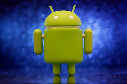 Android's green robot mascot