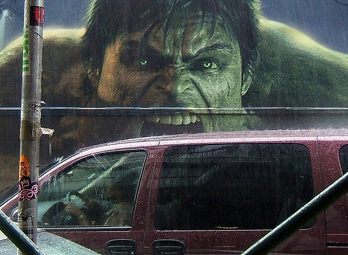The incredible hulk lacks self control