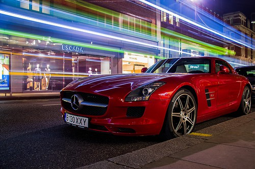 Is a Mercedes SLS the sign of achievement?