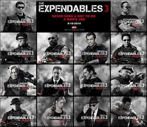 Leadership lessons from the Expendables 3