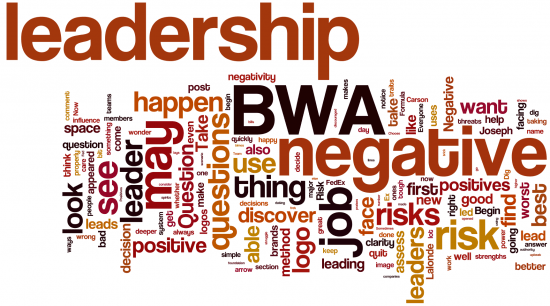 Top leadership words august
