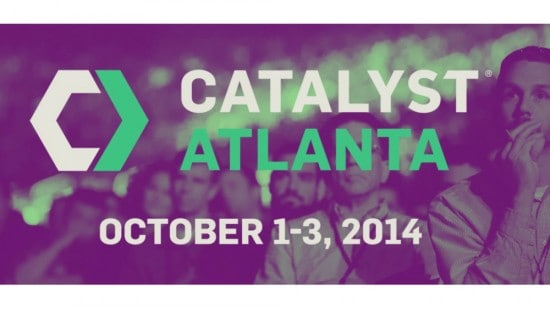 Catalyst Atlanta 2014 Blogger meetup