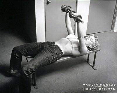 Be fit like Marilyn Monroe