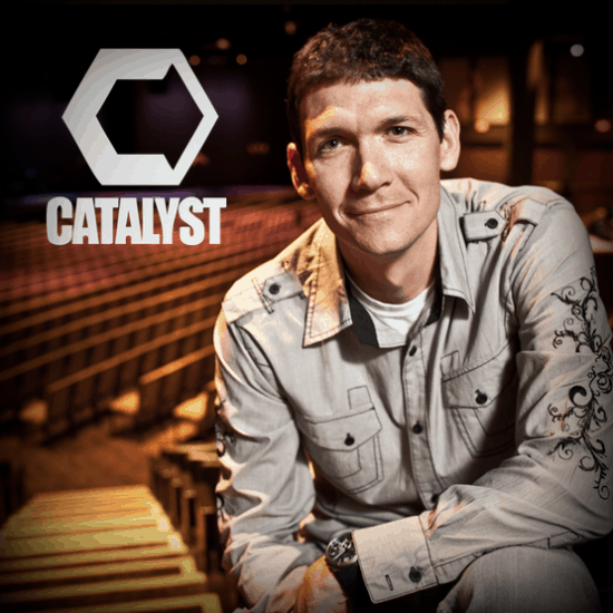 Matt Chandler speaking at Catalyst