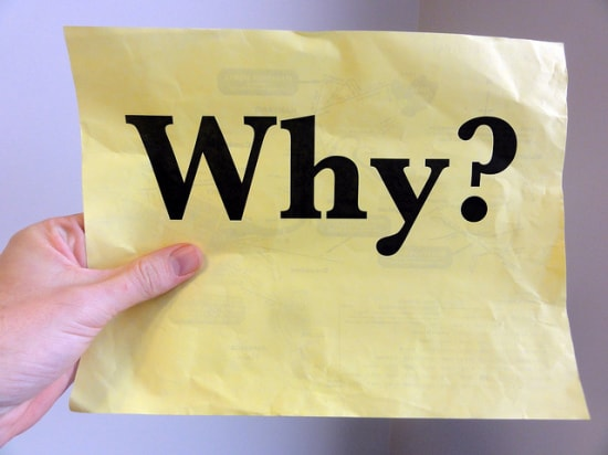 You need to know your why when leading