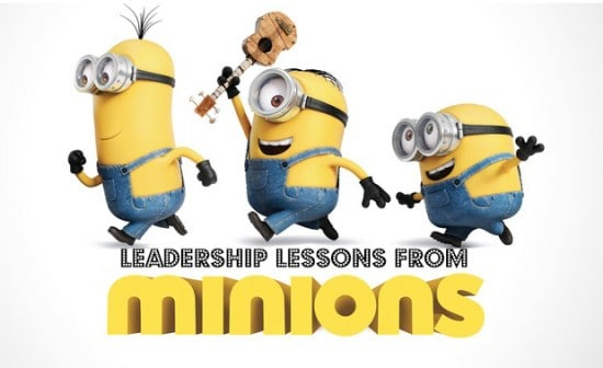 Discover leadership lessons in Minions