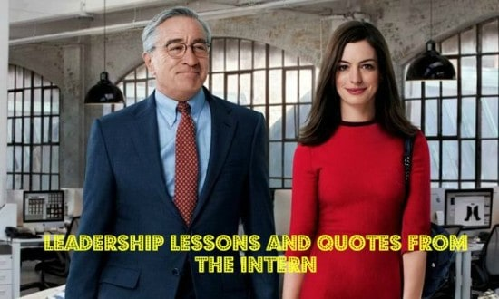 Learn leadership lessons in The Intern