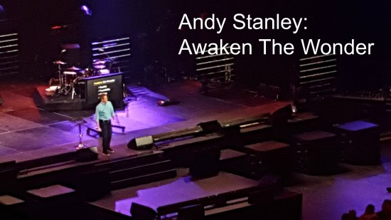 Catalyst 2015 Atlanta: Andy Stanley Awakens The Wonder