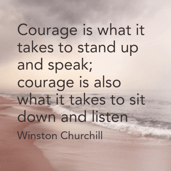 What it takes to be a courageous leader