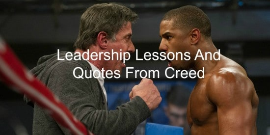 Leadership lessons from Creed