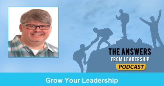 You can grow your leadership
