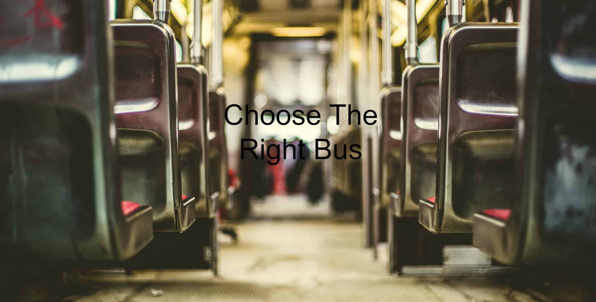 The right bus matters