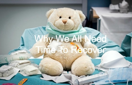Recovery is needed in life