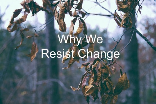 Change is rough, we can make it