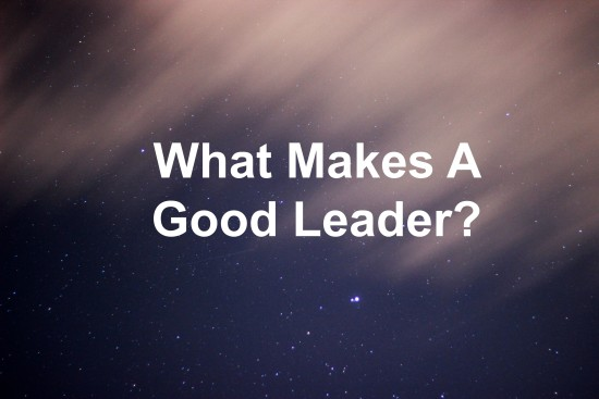 what constitutes good leadership