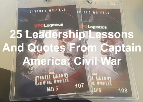 Captain America teaches us leadership