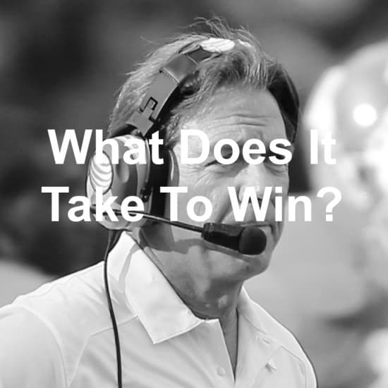 Do you know what it takes to win?