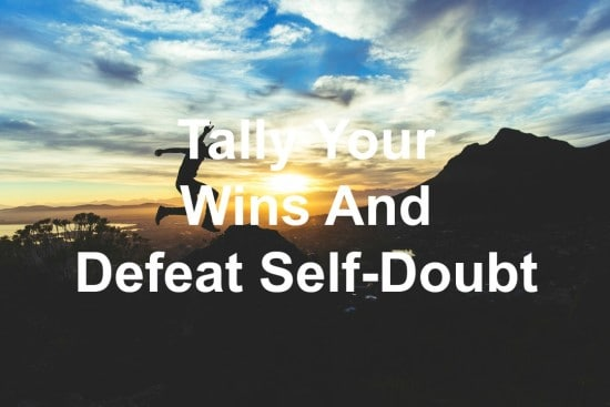 self-doubt can be overcome