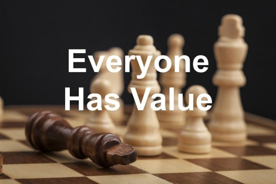 Don't discount the value of your team