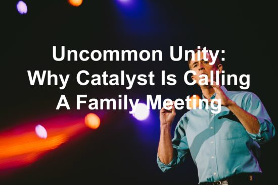 Andy Stanley speaking at Catalyst