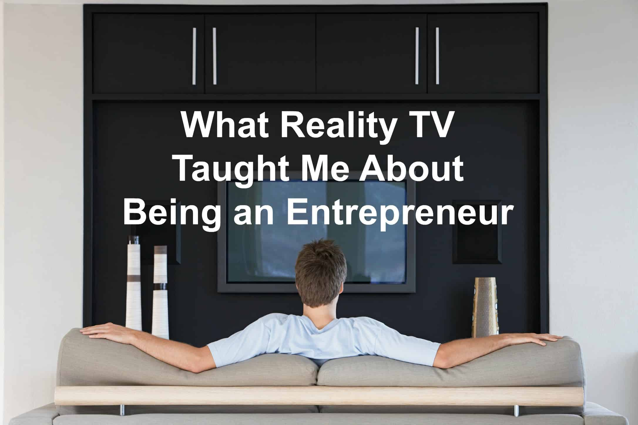 TV and entrepreneurship can go together