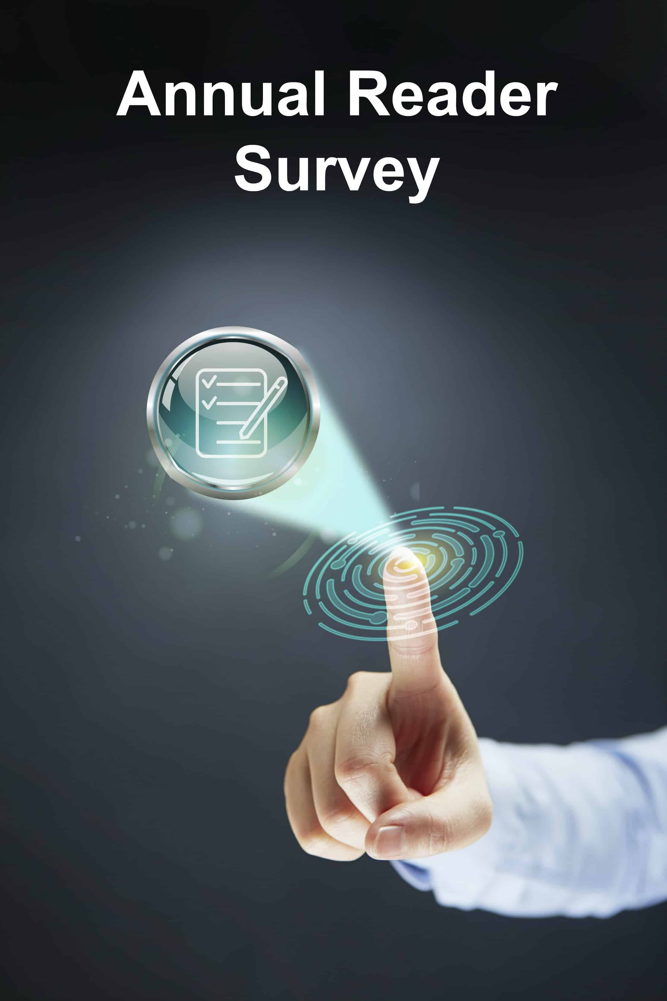 Take my annual reader survey