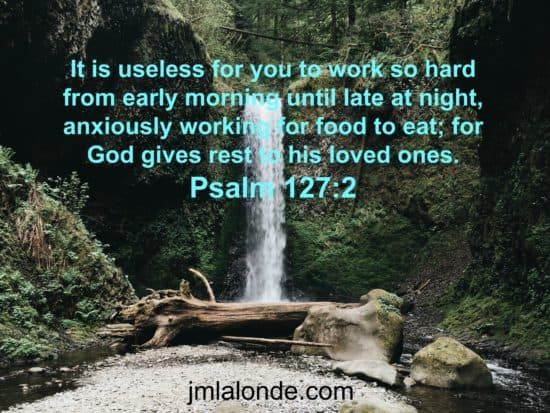 The Bible commands us to rest