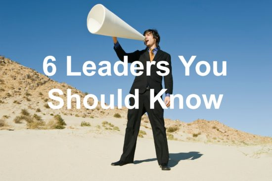 Do you know these great leaders?