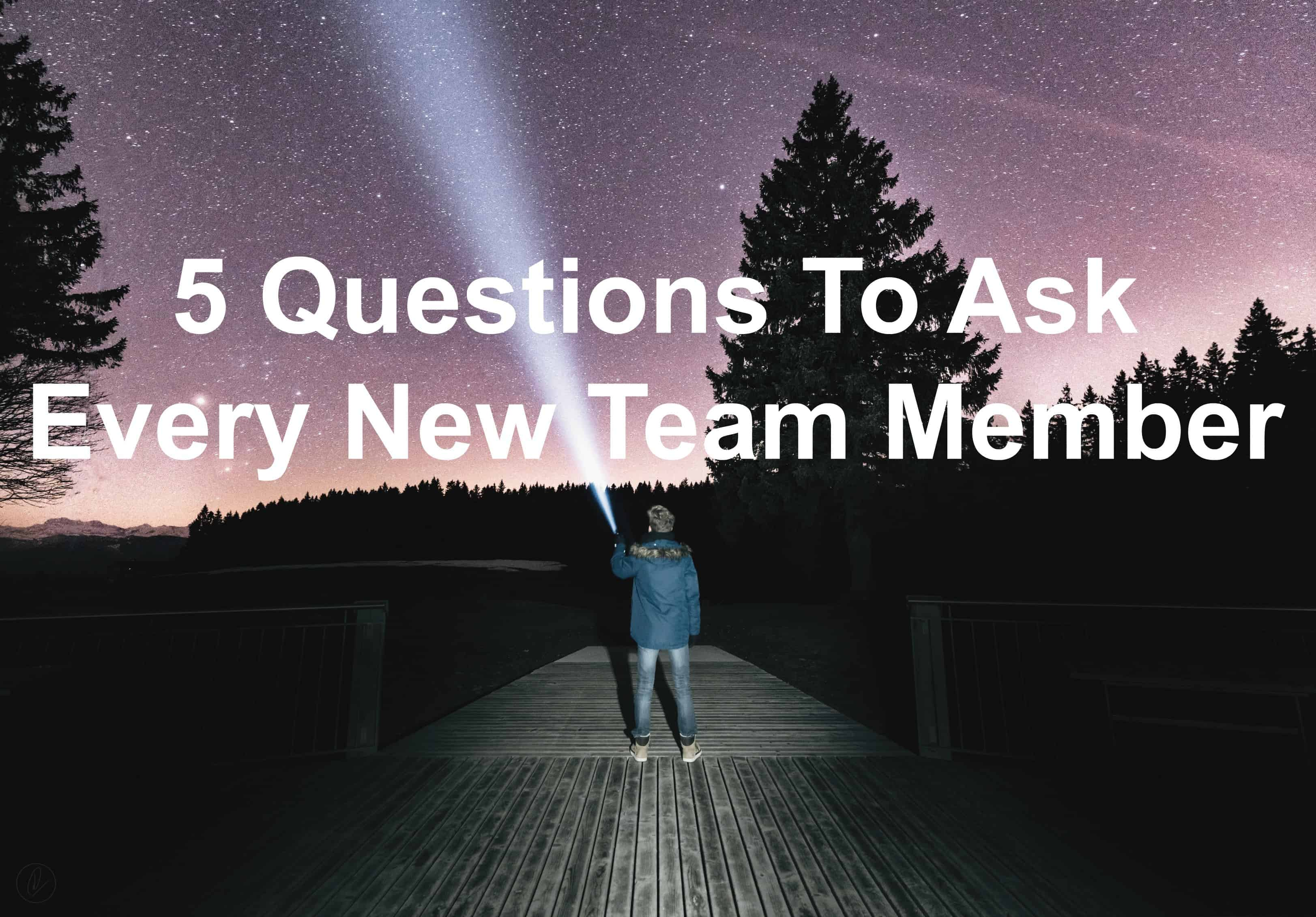 Are you asking new employees these questions?