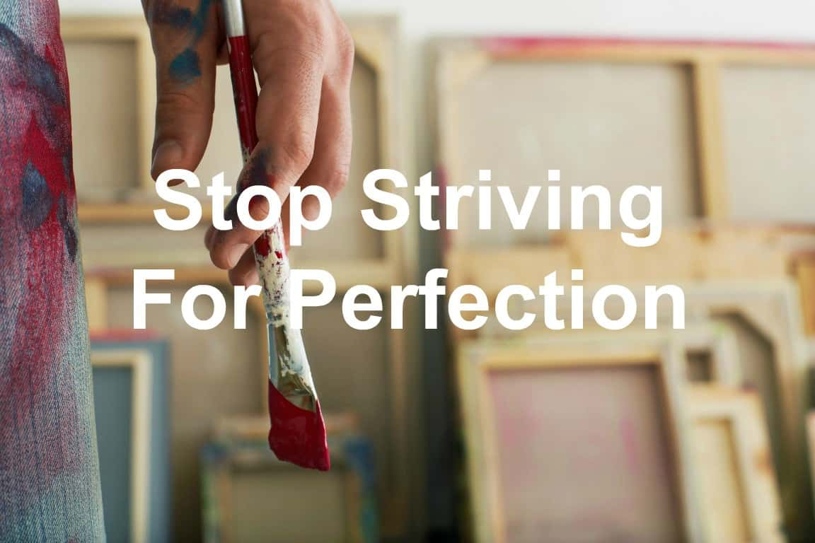Perfection isn't for leaders