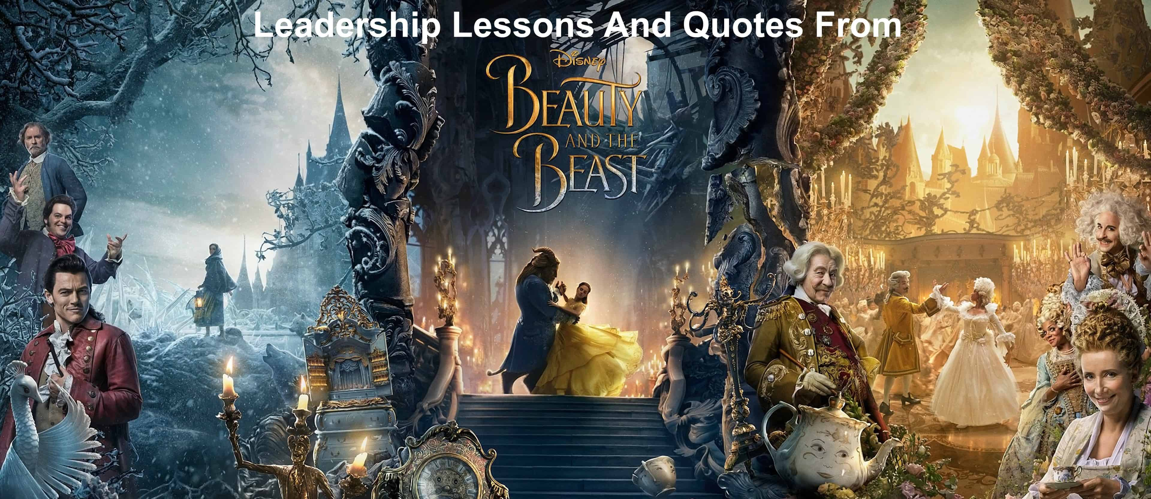 leadership lessons and quotes from Beauty And The Beast