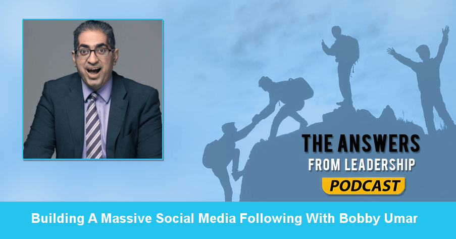 Building a social media presence is important for leaders