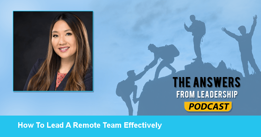 Yengyee Lor shares how to lead remotely
