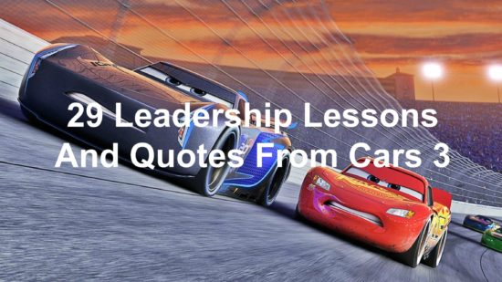 Quotes About Cars Extraordinary 48 Leadership Lessons And Quotes From Cars 48 Joseph Lalonde