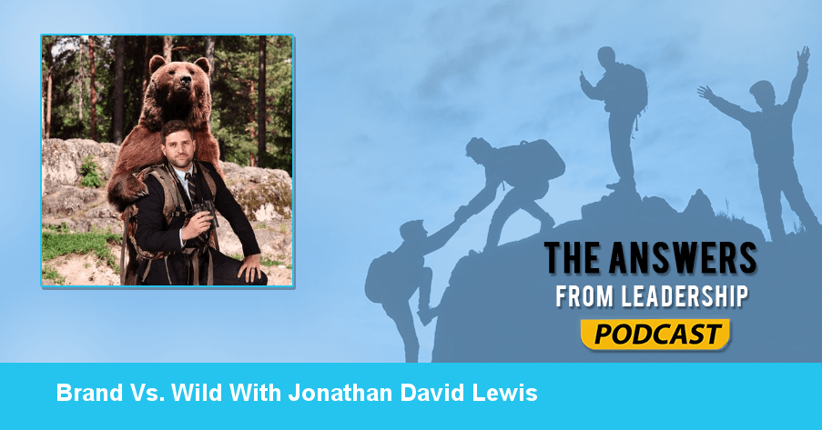 Interview with Jonathan David Lewis about Brand Vs. Wild