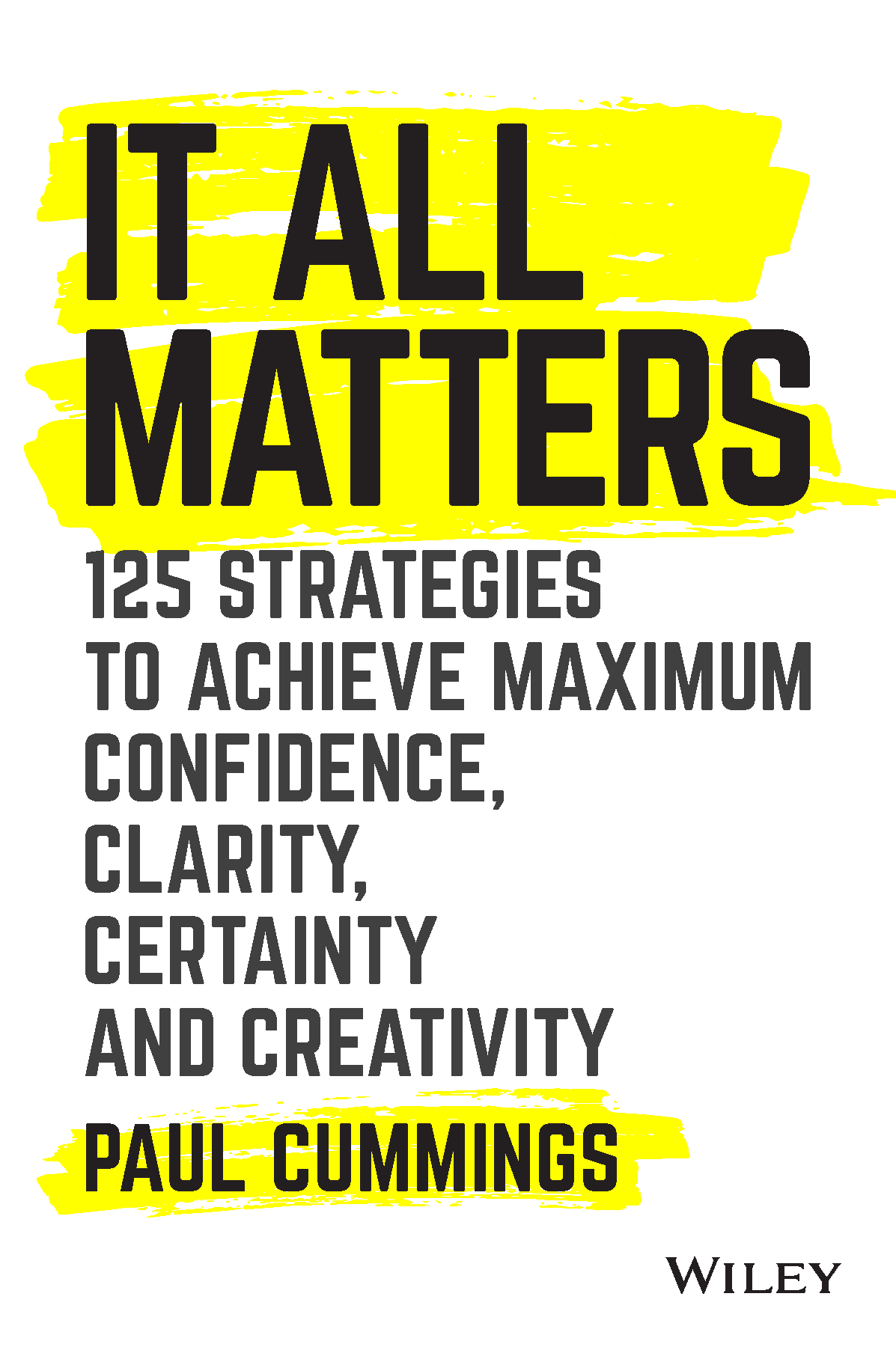 book cover for it all matters by Paul Cummings