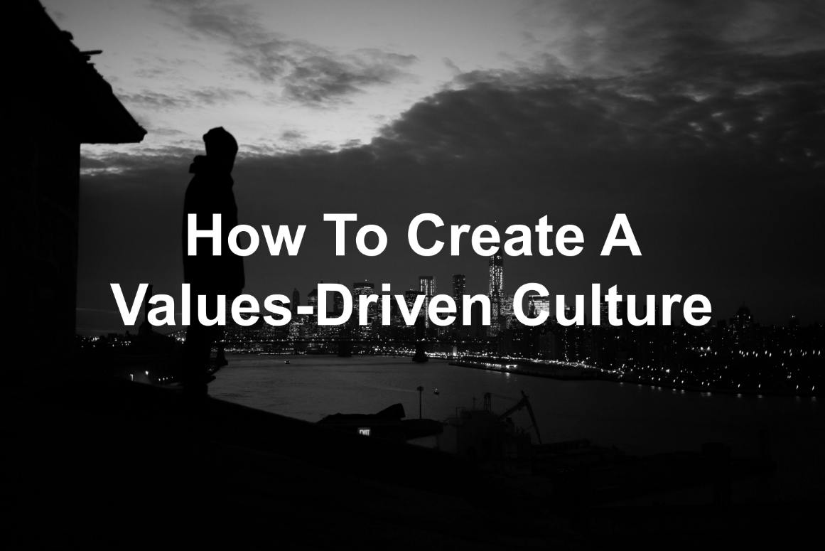 Values Matter. Show your team why