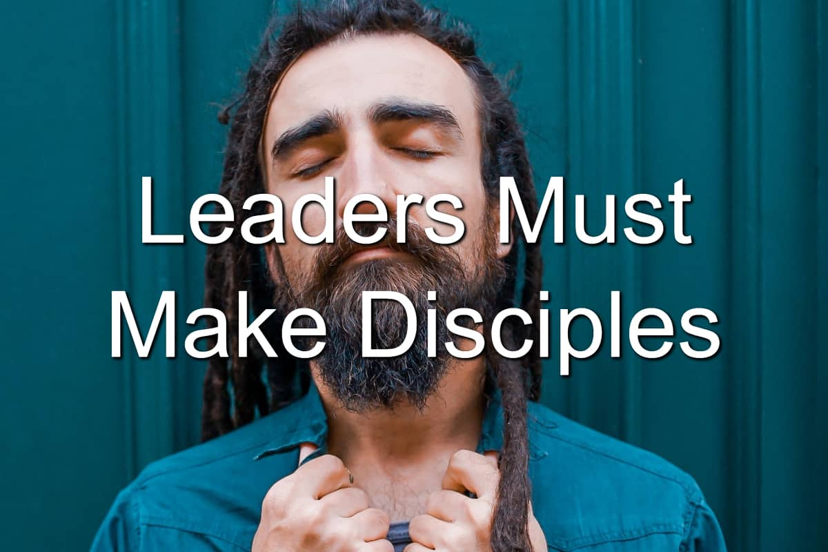 Discipleship is a core of leadership